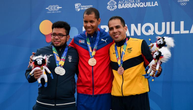 Colombia cerró el tiro con broche de bronce
