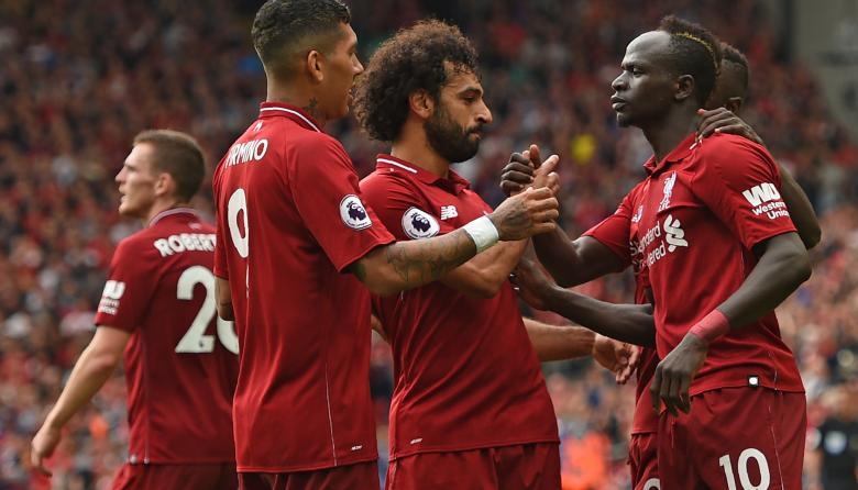 Liverpool comienza la Premier League goleando al West Ham