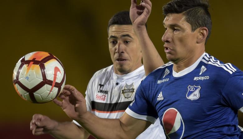 Millonarios pasa a octavos de Sudamericana al golear 4-0 a General Díaz