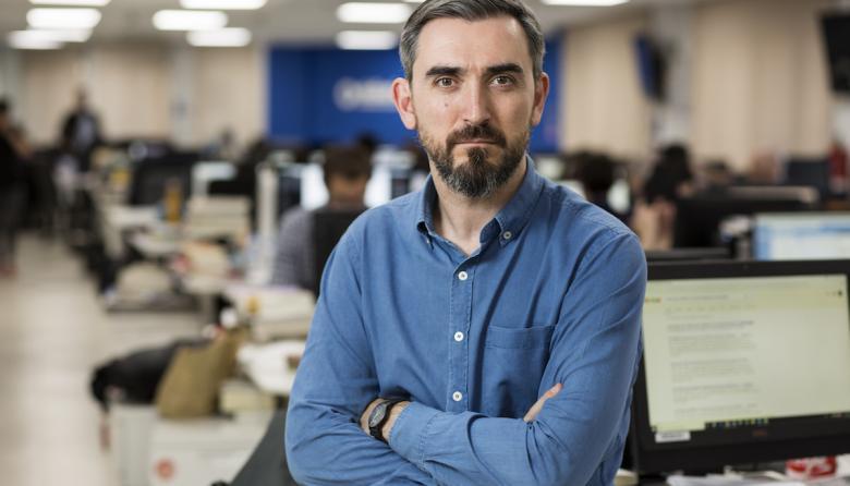El periodista español Ignacio Escolar, director de Eldiario.es.
