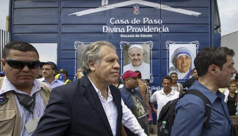 """""""Defienden dictaduras ¡No sean imbéciles!"""": Almagro tras el pedido de su expulsión"""