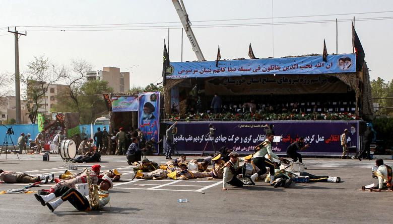 Al menos 24 personas mueren en un atentado en Irán