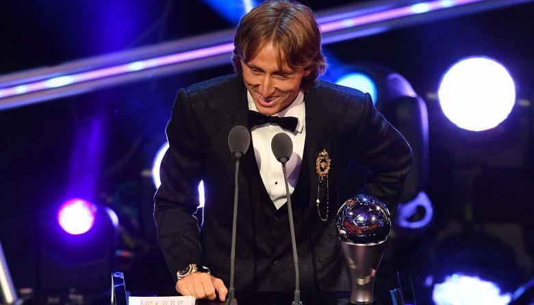 Luka Modric, el mejor jugador de 2018