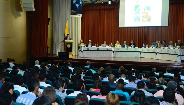 Instalación X Congreso Internacional Derecho.