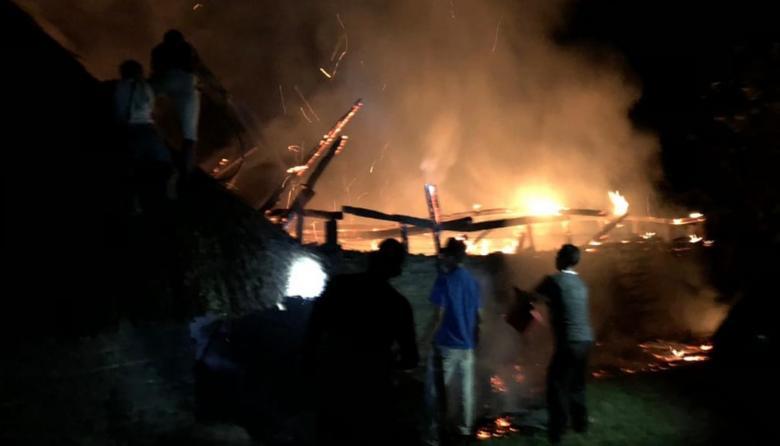 Incendian sitio sagrado de kankuamos