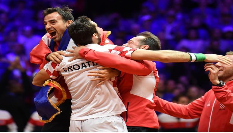Croacia gana la Copa Davis