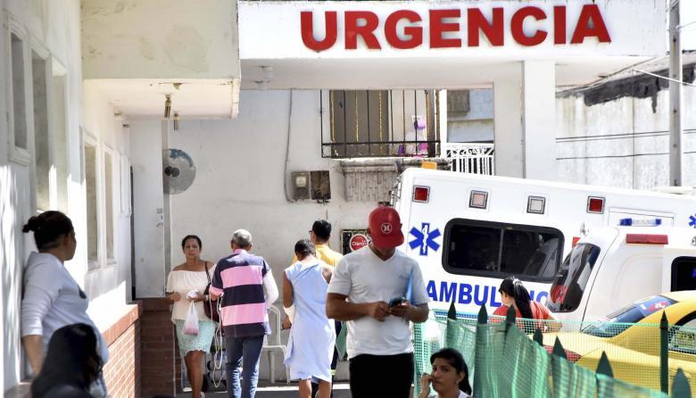 Área de acceso a la urgencia del hospital Niño Jesús.