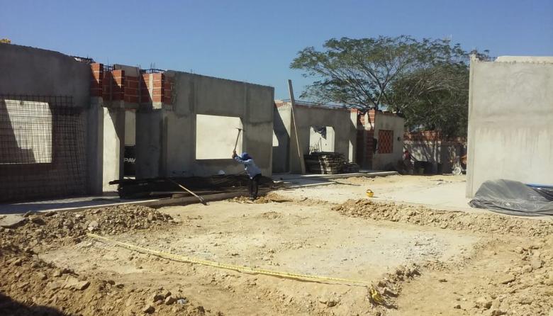 Comunidad exige agilizar las obras en CDI de Santo Tomás