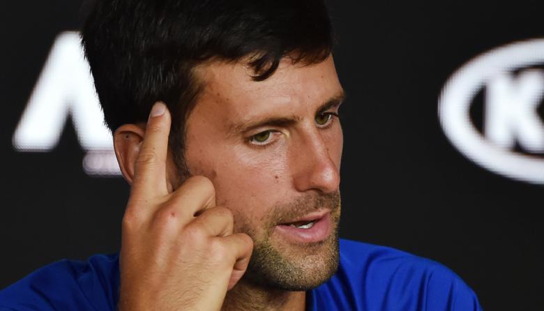 """""""El mejor tenis que he jugado contra Rafa en una final"""": Djokovic"""