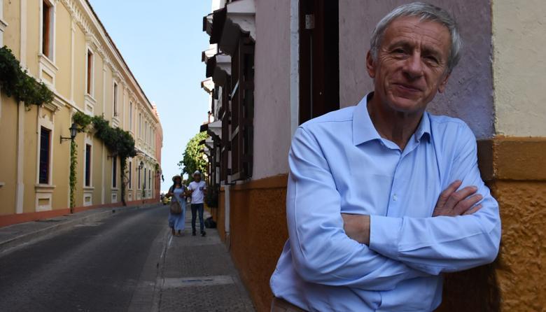 Jean-Christope Rufin, médico y escritor francés invitado al Hay Festival.