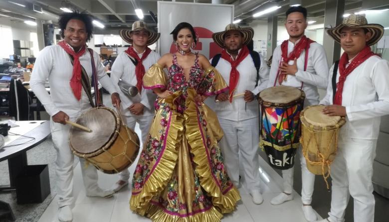 Lauren Martínez Varela, la reina de los malamberos