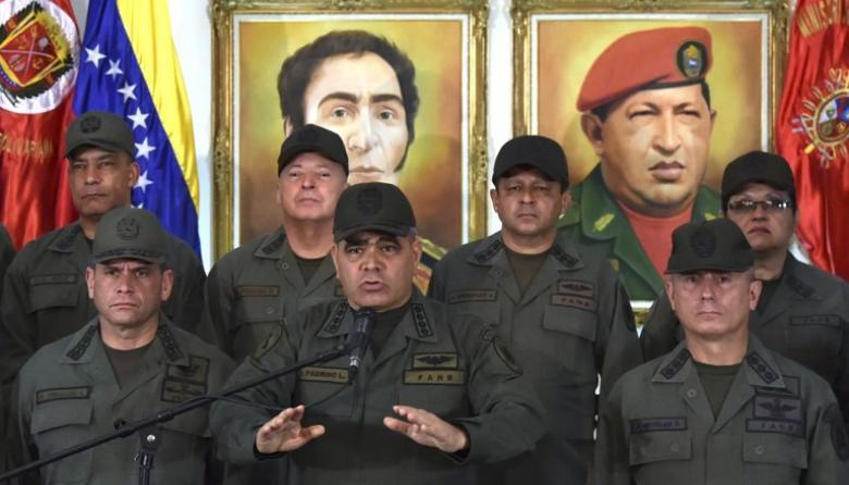 """Militares venezolanos se declaran en """"alerta"""" para evitar violación de frontera"""