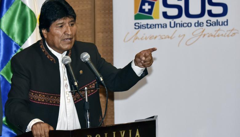 Bolivia celebra decisión del grupo de lima