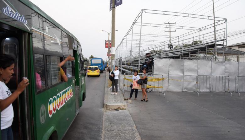 Rutas de transporte urbano en Las Flores y La Playa estarán garantizadas: AMB