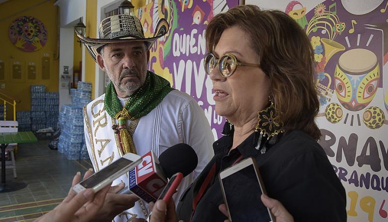 Carla Celia y Juan José Jaramillo explican el balance del Carnaval 2019.