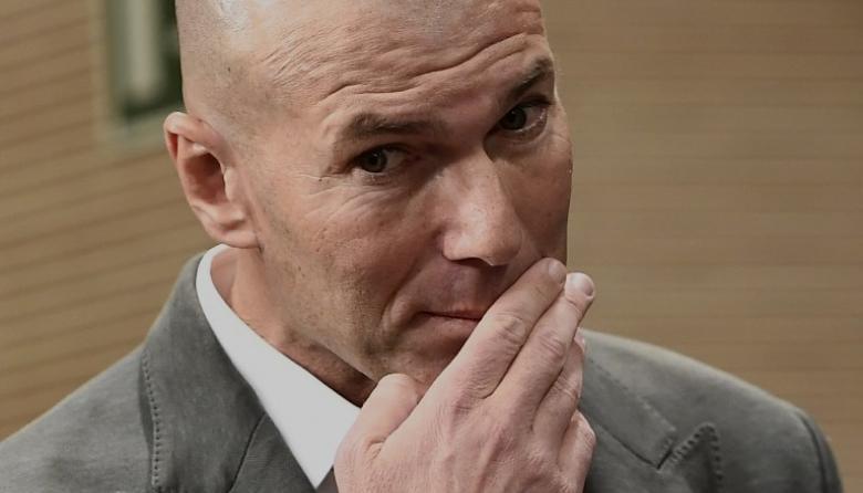 Zinedine Zidane, técnico francés.