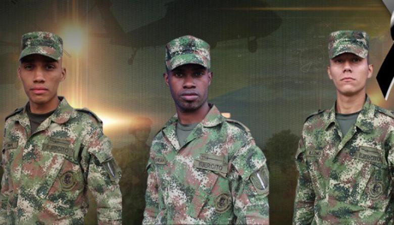 Tres militares colombianos mueren por explosión en narcocultivos en Tumaco