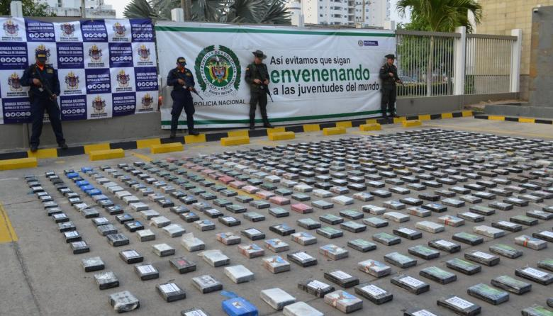 Cae una tonelada de cocaína en Cartagena que iba para EEUU
