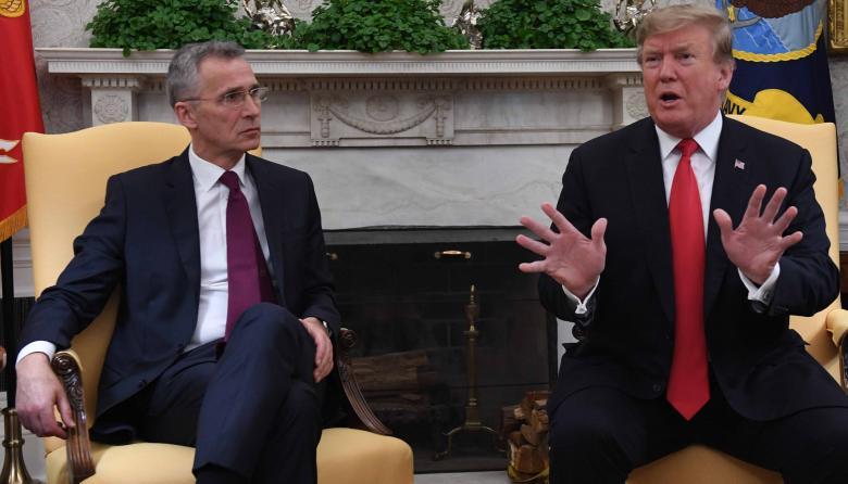 Donald Trump satisfecho con el aumento del gasto en defensa de la OTAN