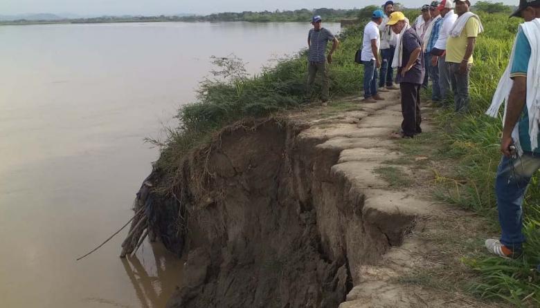 """""""No aguantamos otra arremetida del río Cauca"""""""