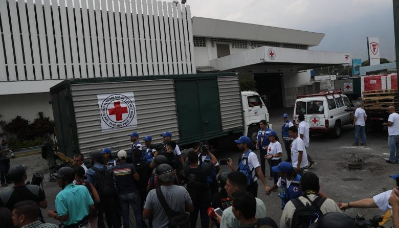 Cruz Roja ingresa primera ayuda humanitaria a Venezuela