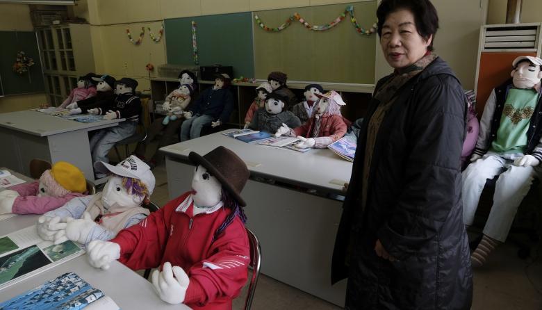 """En Japón usan muñecos para """"repoblar"""" una aldea abandonada"""