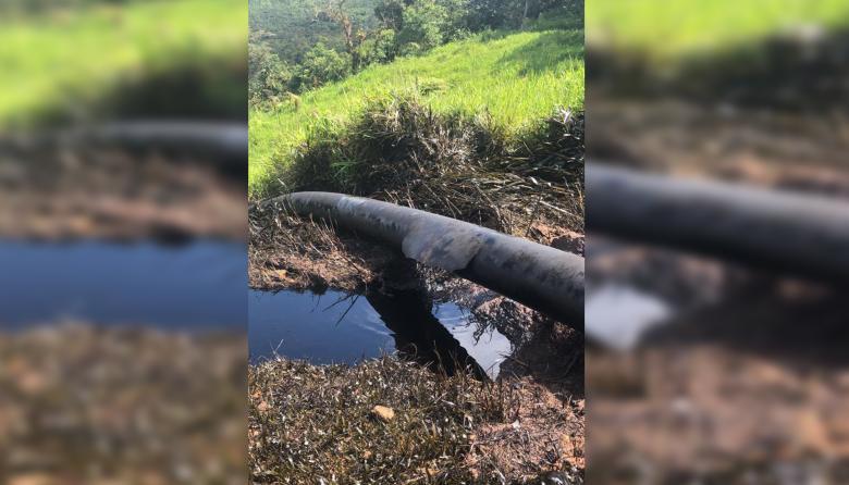 El ataque afectó el río Tibucito y Pozo Azul, un sitio turístico de Norte de Santander.