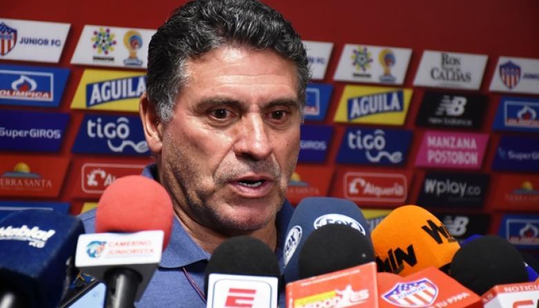 Luis Fernando Suárez, entrenador del cuadro rojiblanco.