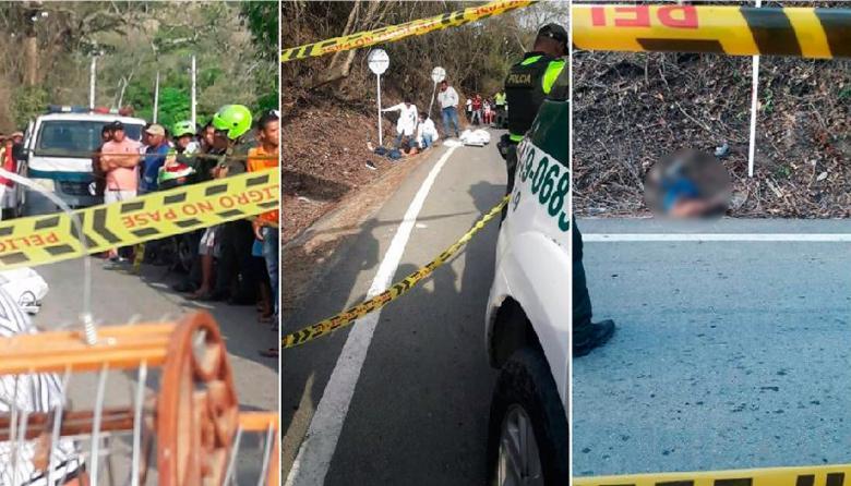 Misterio en torno a la muerte de venezolana que fue hallada en vía de Juan de Acosta