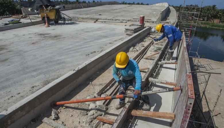 """""""Puente de Barlovento va en un 80%"""": Distrito"""