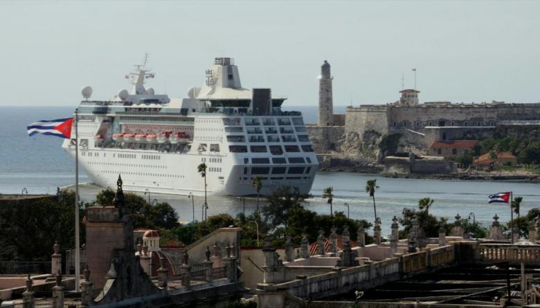 En video | Los cubanos despiden al último crucero de EEUU, tras nuevas medidas de Trump