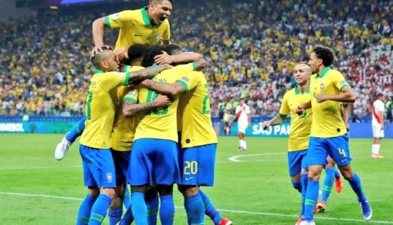 Brasil, primer semifinalista de la Copa América