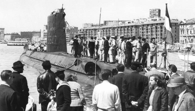Encuentran submarino francés 50 años después de desaparecer con 52 tripulantes