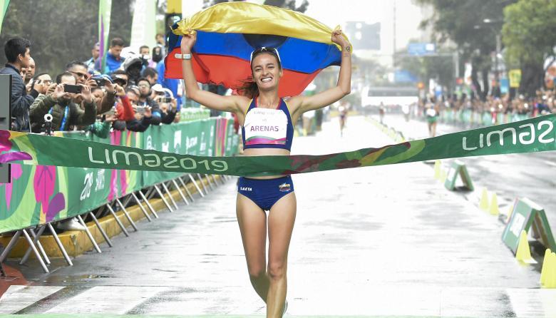 Sandra Arenas marchó por el oro en Lima