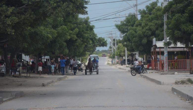 Sector del barrio Pinar del Río donde ocurrió el atentado a bala.