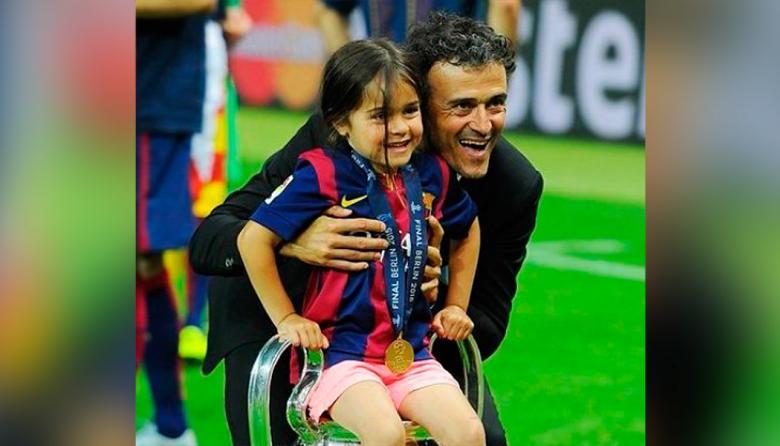 Luis Enrique anuncia la muerte de su hija de 9 años por cáncer de huesos