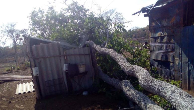 Lluvias y fuertes vientos en La Guajira por el huracán 'Dorian'