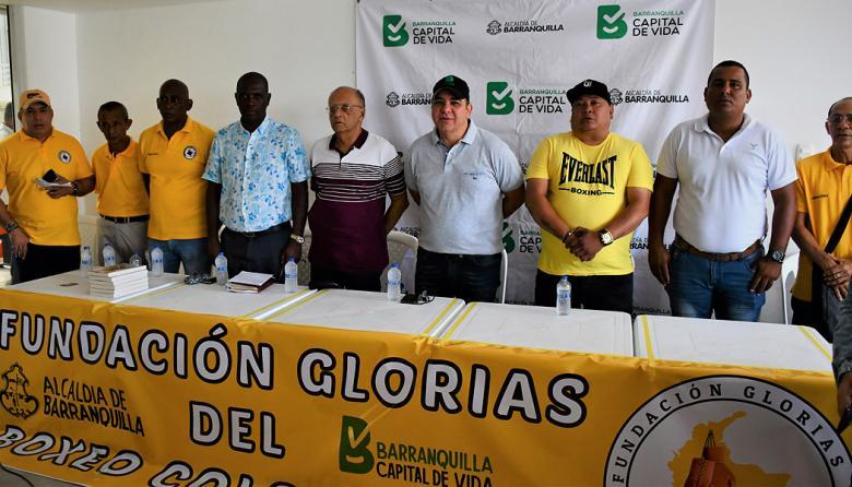 Fundación Glorias del Boxeo, al rescate del deporte en Barranquilla