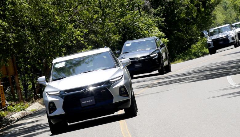 Chevrolet Blazer RS, deportiva y agil
