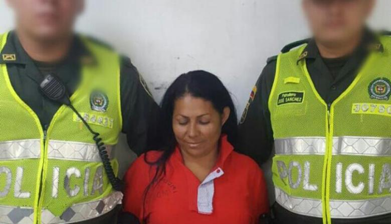 Alba Judith Tabares Parejo, asesina de tres tiros en el centro.