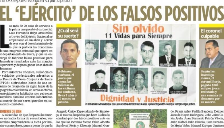 El proceso se relaciona con el asesinato de 11 jóvenes de Toluviejo.
