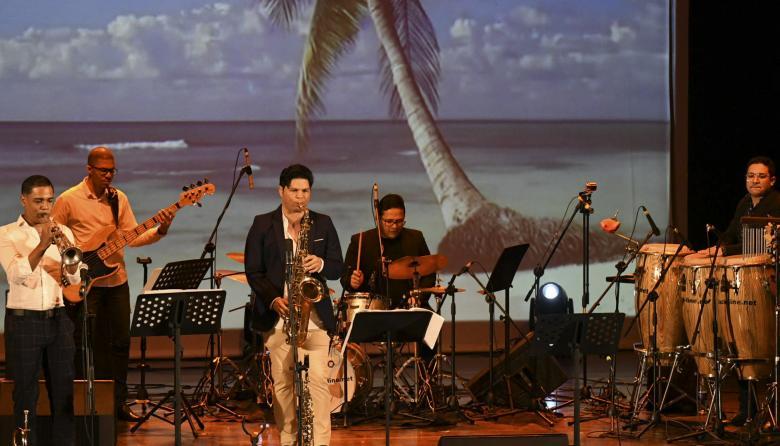 Gonzalo Lubo durante su presentación.