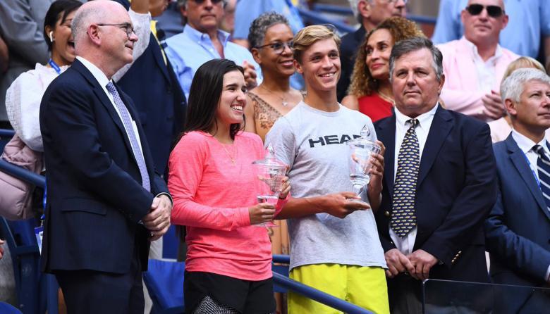 María Camila Osorio, la tenista entre una familia futbolera