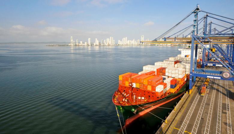 Panorámica de la Sociedad Portuaria de Cartagena.