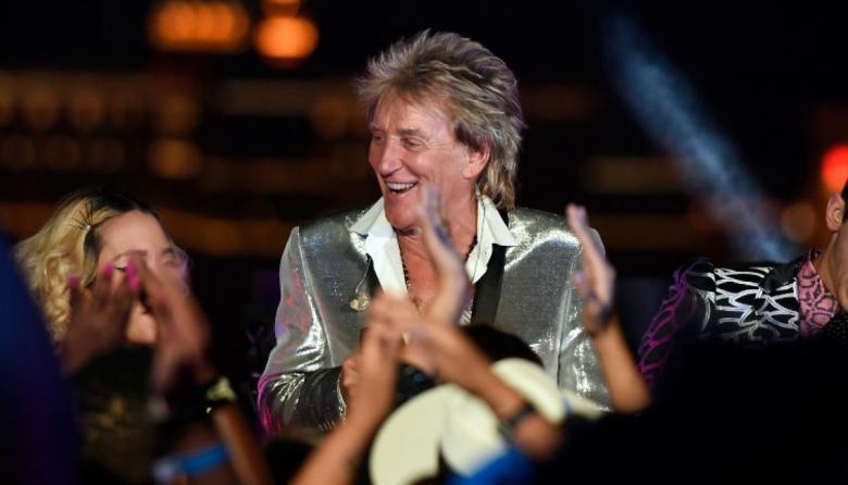 Rod Stewart reveló que superó el cáncer de próstata