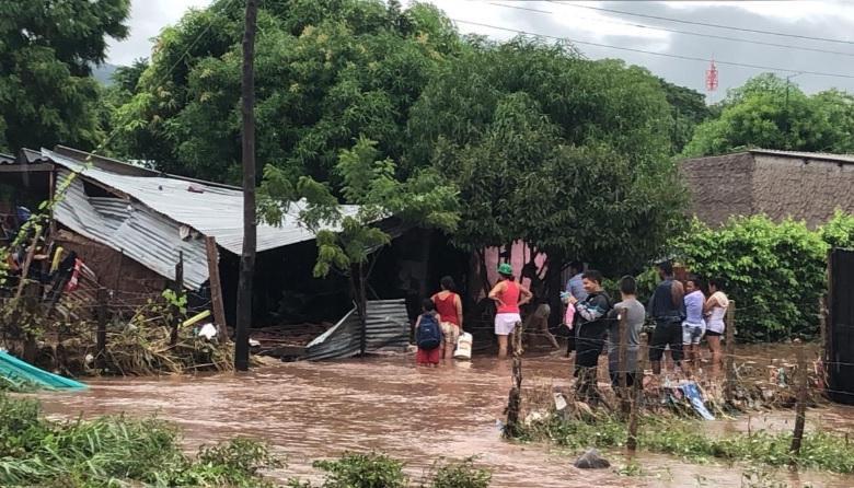 Una de las viviendas afectadas por la ola invernal en Codazzi.