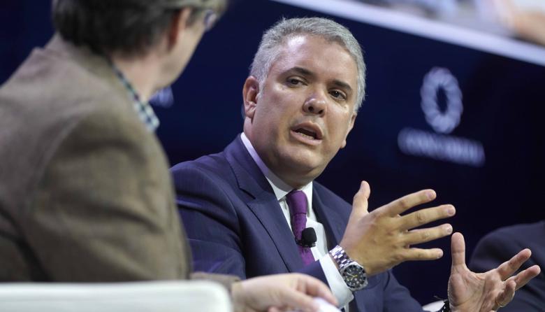 Duque pide a la comunidad internacional apoyar con recursos a migrantes venezolanos