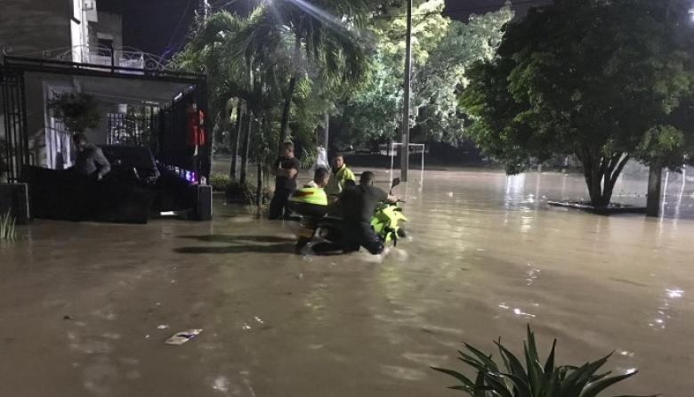 Decenas de damnificados en el aguacero más fuerte de este año en Sincelejo