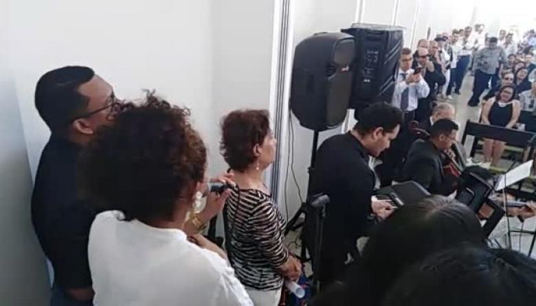Con música despiden al maestro Miguel Biava Sosa