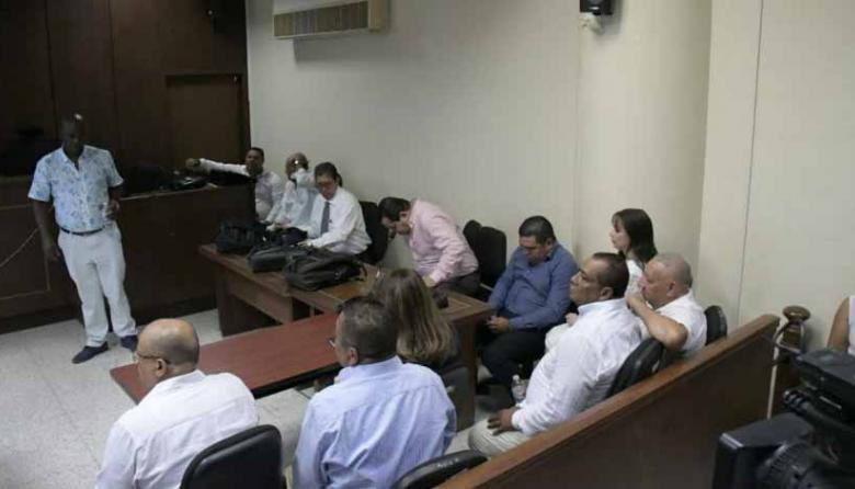 Los capturados son procesados por el delito de corrupción al sufragante.